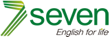 Seven English for Life Bolivia Logo